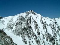 岩稜を登る